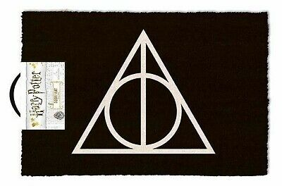 HARRY POTTER DEATHLY HALLOWS DOOR MAT