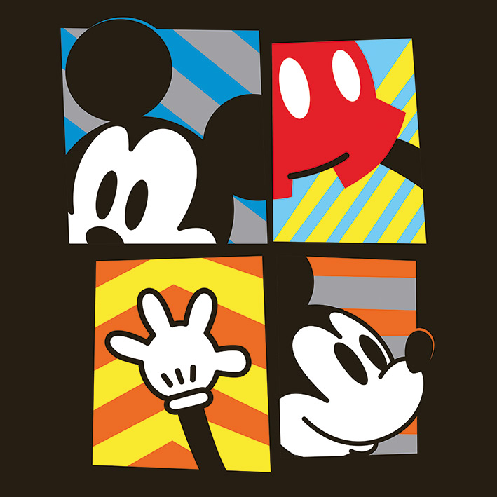 MICKEY MOUSE (FRAMED)