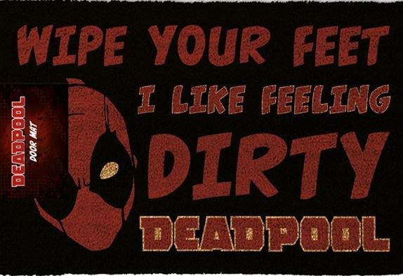 DEADPOOL DIRTY DOOR MAT