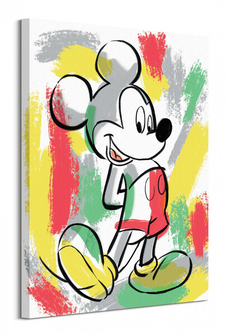 MICKEY MOUSE (PAINT STRIPES)