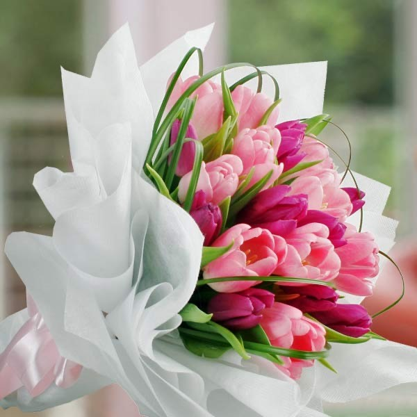 Bouquet of tulips  - PINK