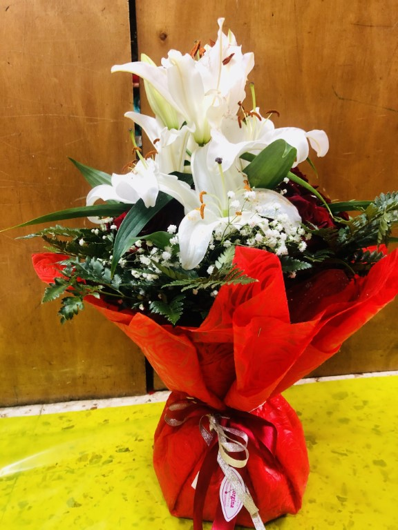 Bouquet Lilies