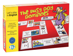THE BUSY DAY DOMINOES NEW