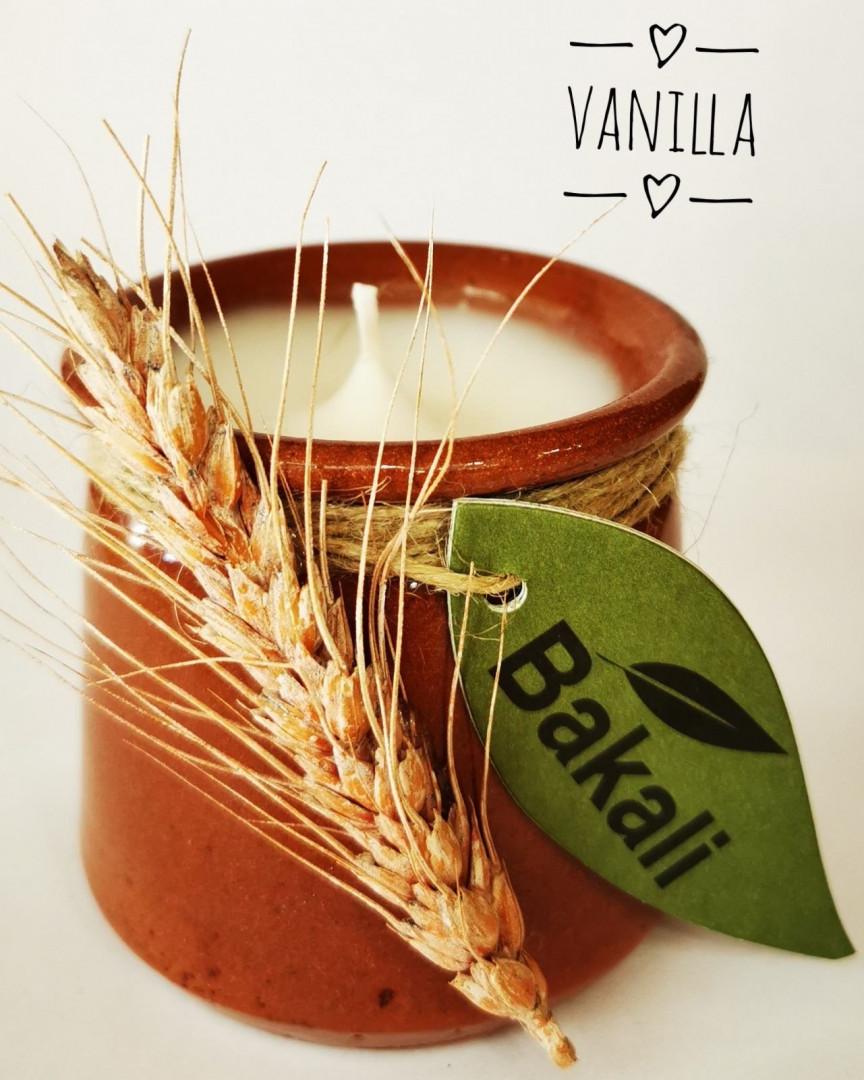 Handmade candle vanilla #219