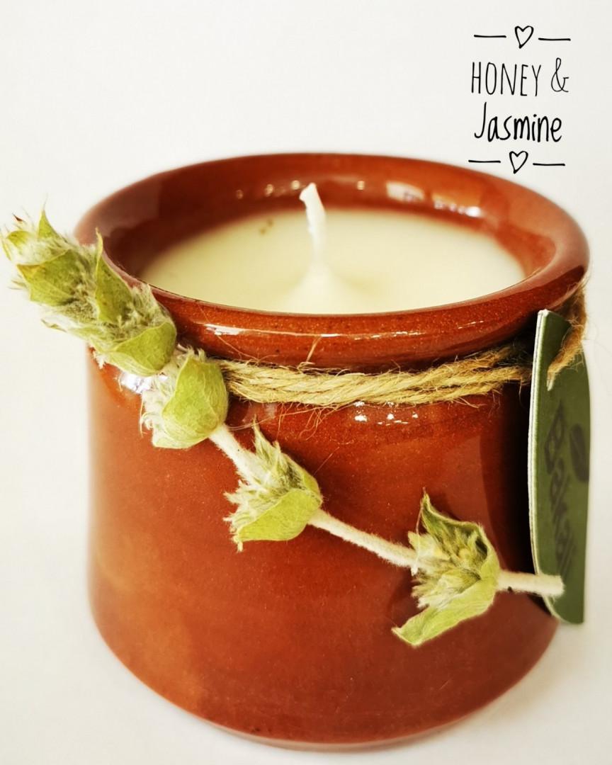 Handmade Candle jasmine #220