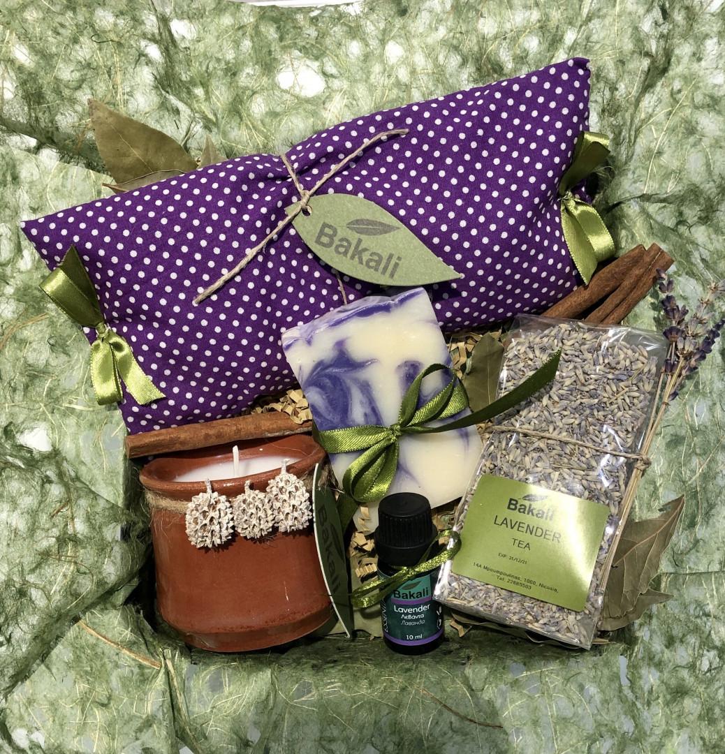 Natural lavender gift box #18