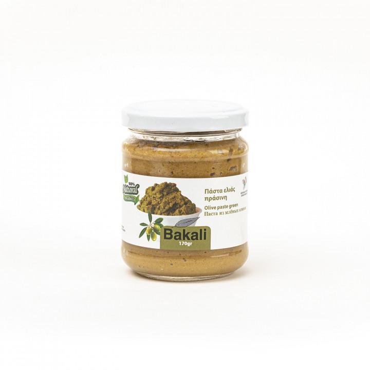Green olive paste 170gr