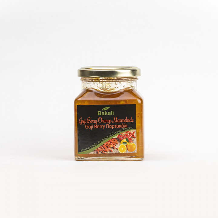 Goji berry with orange Jam 350 gr