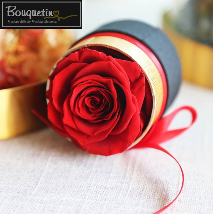 One Forever Eternity Preserve Rose - Red