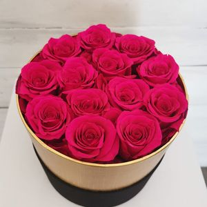 13 Eternity Preserved Forever Roses in a Luxury box - Red