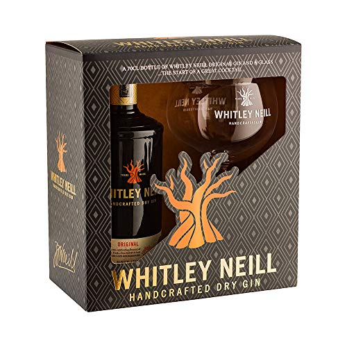 WHITLEY NEIL GIN GIFT BOX 70CL