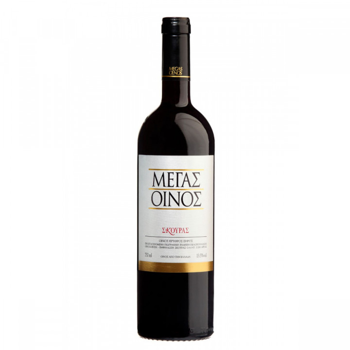 SKOURAS MEGAS OINOS RED 750ML