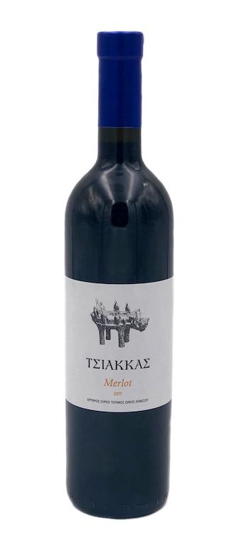 TSIAKKAS MERLOT 75CL
