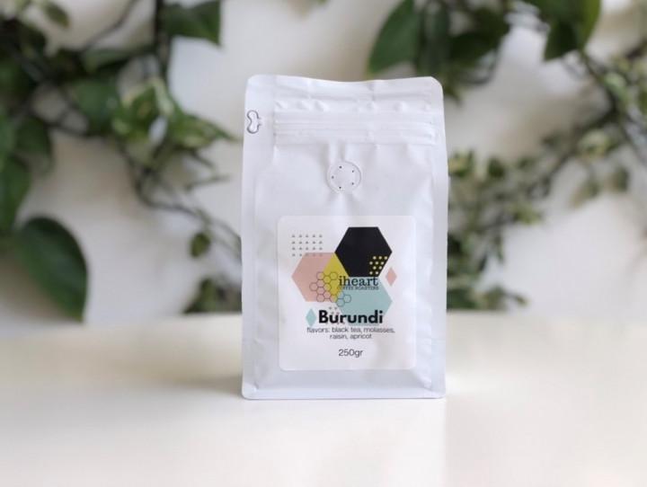 BURUNDI - Black tea, Molasses, Raisin, Apricot