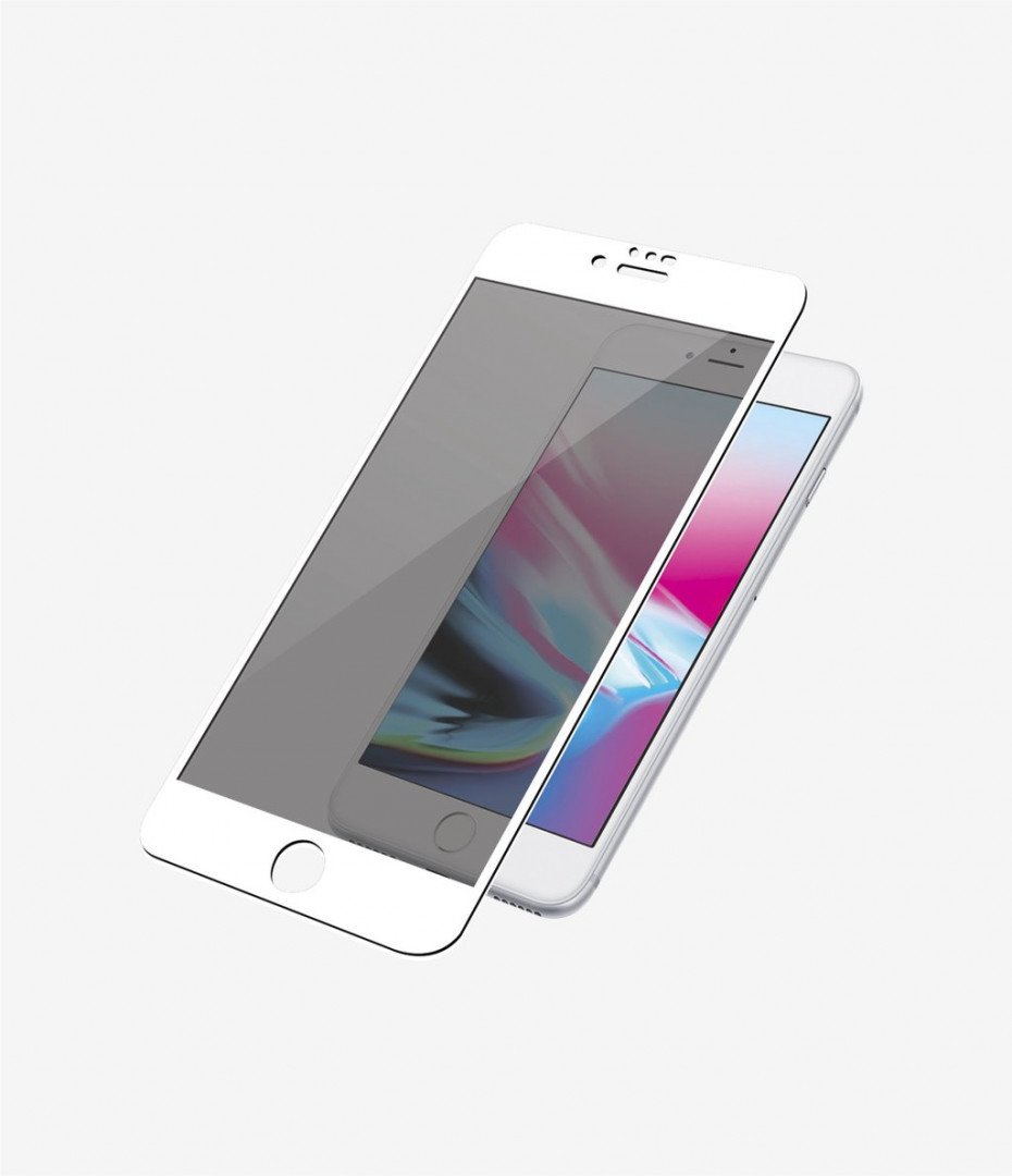 Screen Protector for iPhone 6S/6 Plus Senso Full Face 3D Tempered Glass White