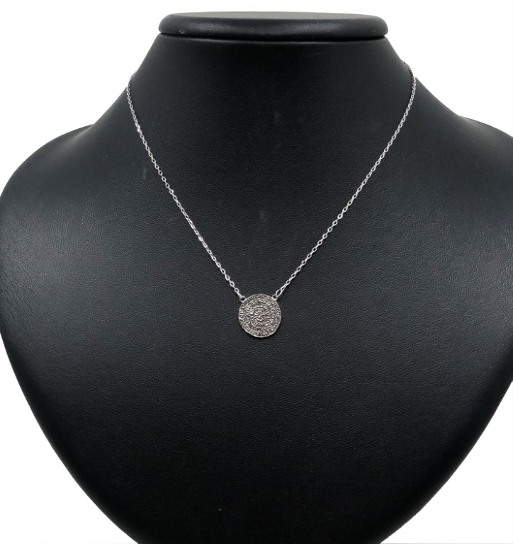 White Gold Necklace - SILVER
