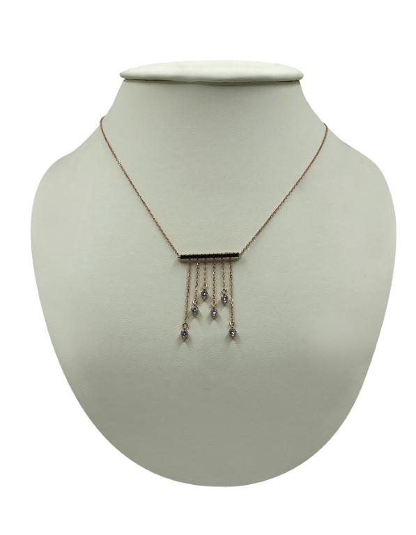 Rose Gold Necklace - Silver - SPECIAL OFFER