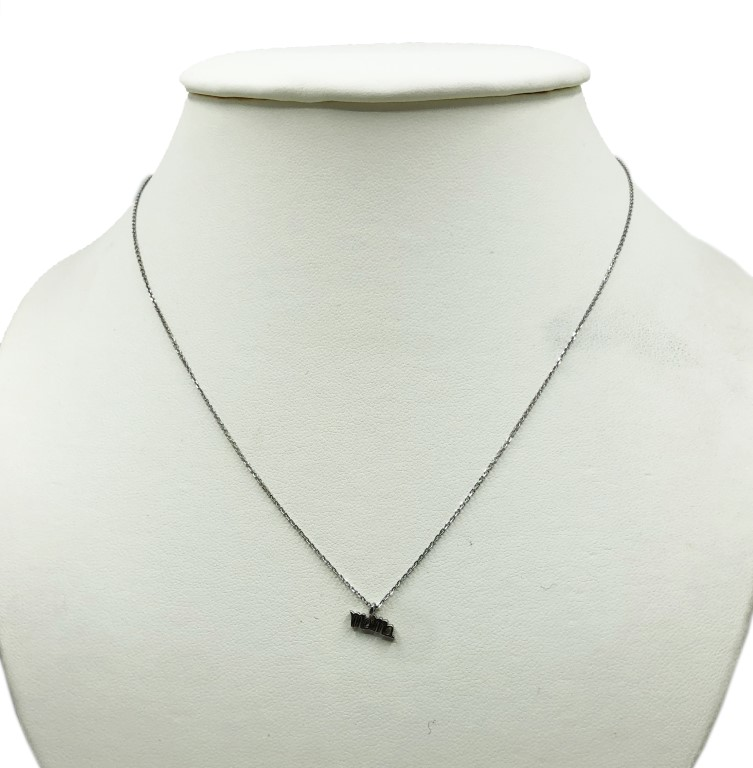 white gold 'mama' necklace - Silver - SPECIAL OFFER