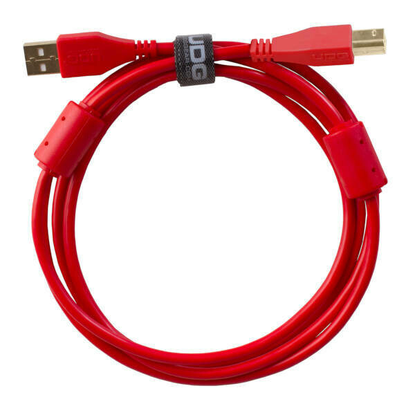 UDG Ultimate Audio Cable USB2 A-B 3m Red