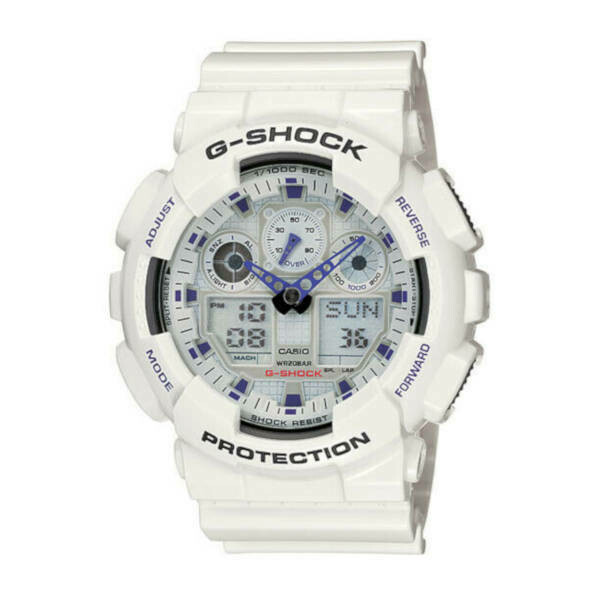 Casio G-Shock Protection White GA-100A-7AER
