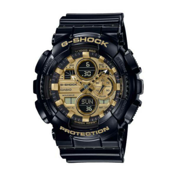 Casio G-Shock Protection Black (Gold Face) GA-140GB-1A1ER