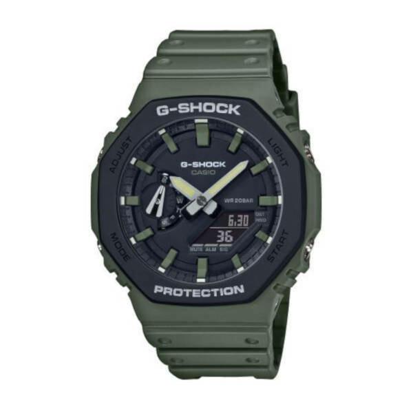 Casio G-Shock Protection Green GA-2110SU-3AER