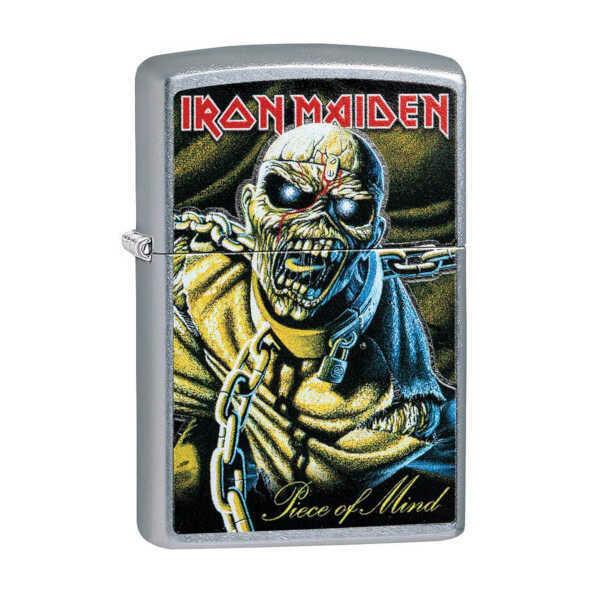 Zippo Windproof Lighter - Iron Maiden (Silver)