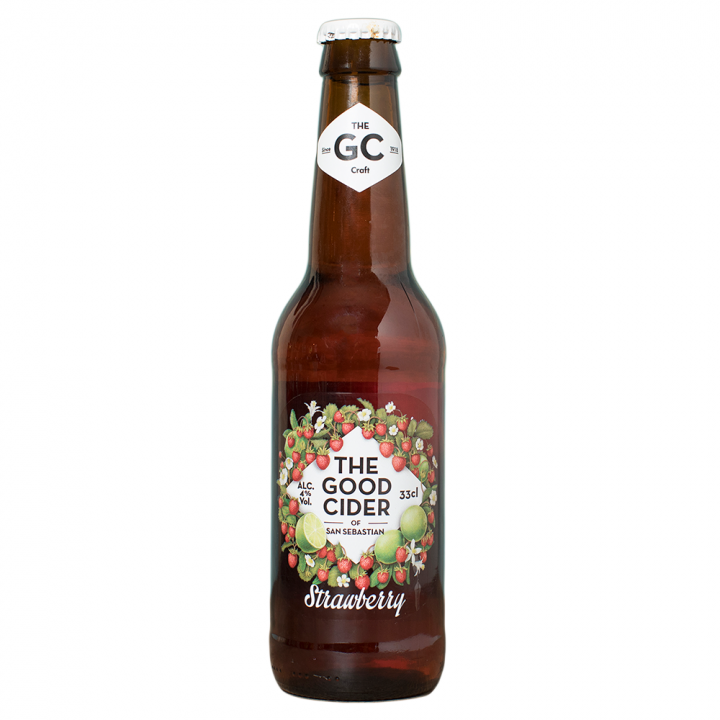 The Good Cider Of St Sebastian Strawberry & Lime
