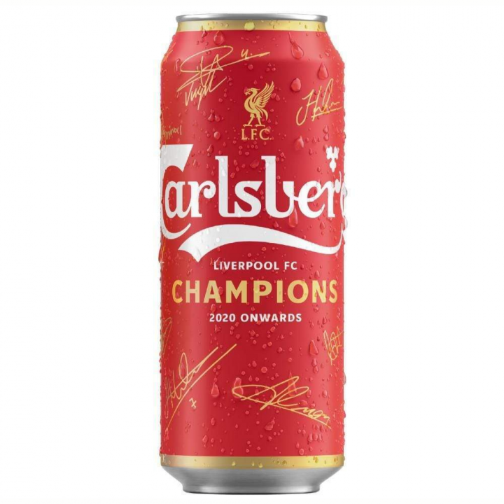 Carlsberg - Liverpool FC (limited edition) 500ml