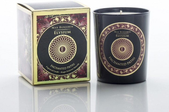 ENCHANTED PATHS GLASS CANDLE190G