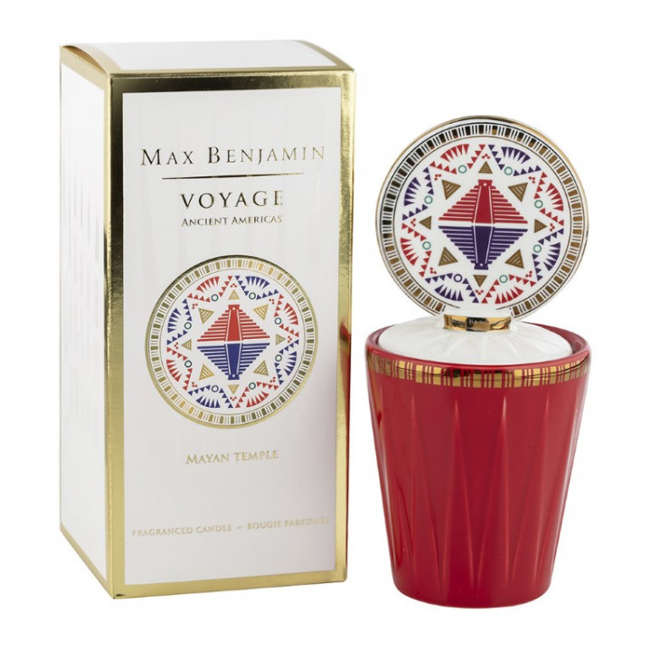 MAYAN TEMPLE CANDLE 190G