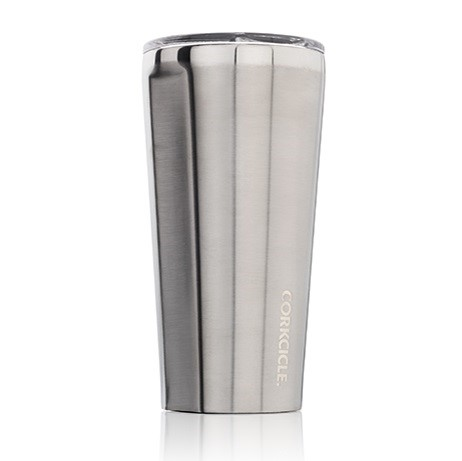 TUMBLER-16OZ BRUSHED STEEL
