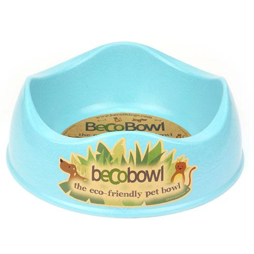 BECO - BLUE BAMBOO DOG BOWL
