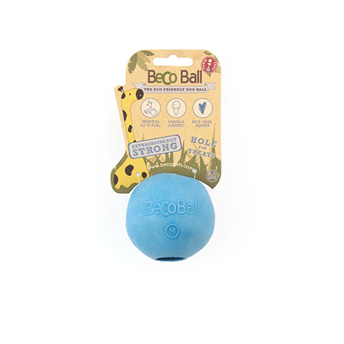 BECO - BLUE RUBBER TREAT BALL