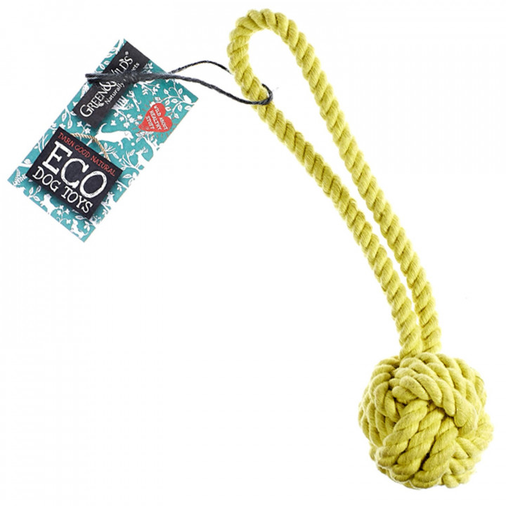GREEN AND WILDS - ROPE BALL