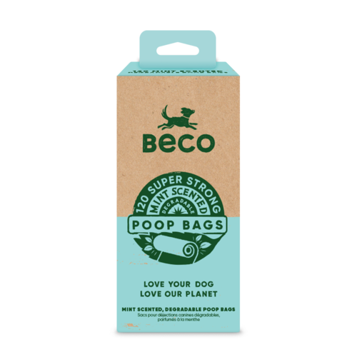 BECO - DEGRADABLE MINT SCENTED 120 UNITS