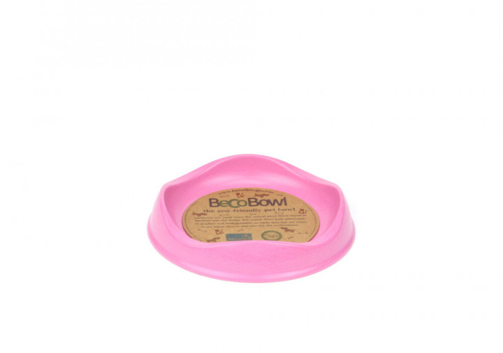 BECO - PINK BAMBOO CAT BOWL