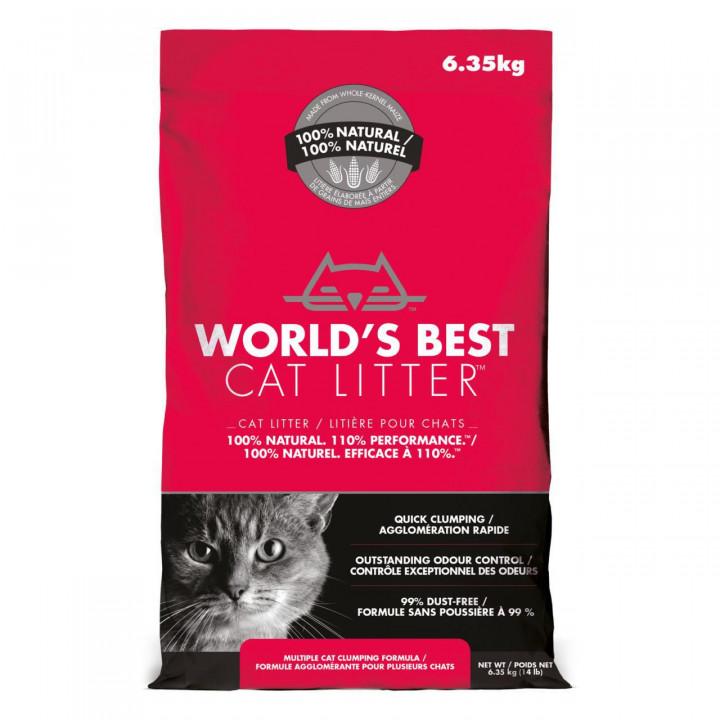 WORLD'S BEST CAT LITTER - WORLD'S BEST CAT LITTER MULTIPLE CAT CLUMPING FORMULA
