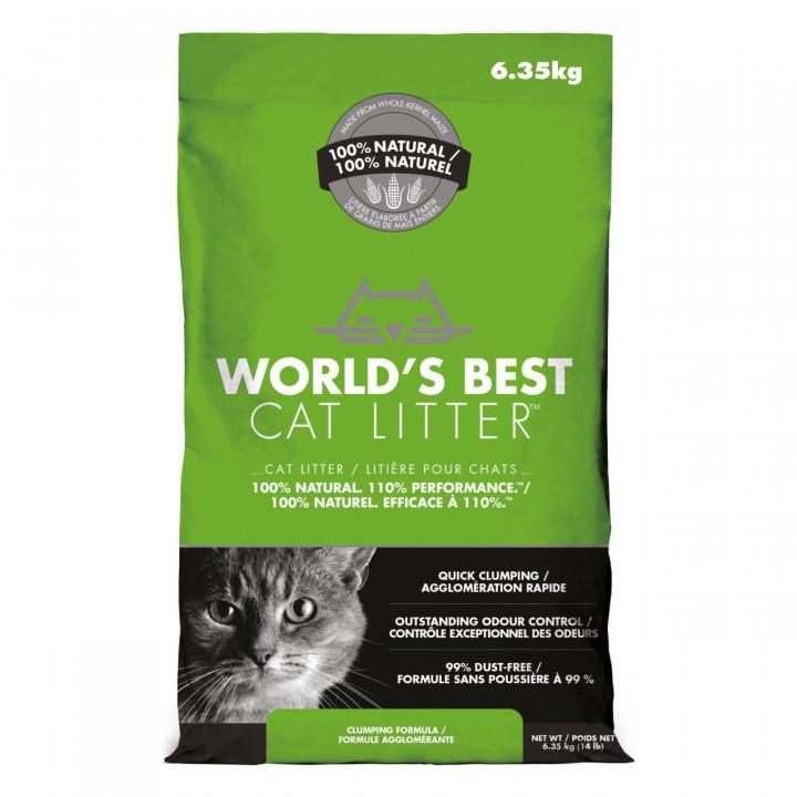 WORLD'S BEST CAT LITTER - WORLD'S BEST CAT LITTER CLUMPING FORMULA