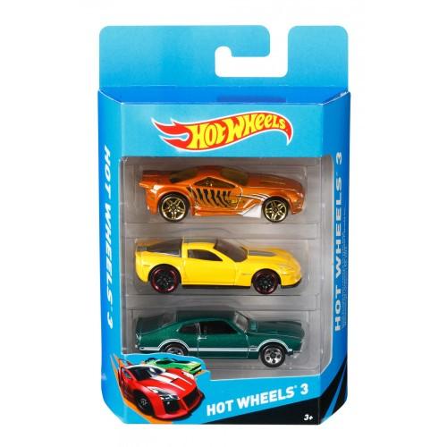Hot Wheels Αυτοκινητάκια Σετ των 3