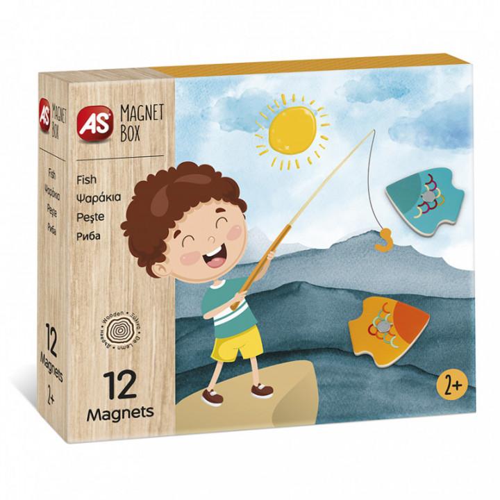 CLEMENTONI MAGNET BOX - Ψαράκια