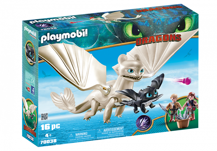 PLAYMOBIL 70038 - Η Λευκή Οργή κι ένας Δρακούλης με τα παιδιά