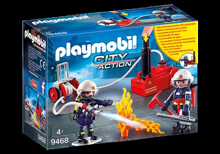 PLAYMOBIL 9468 - Πυροσβέστες με αντλία νερού