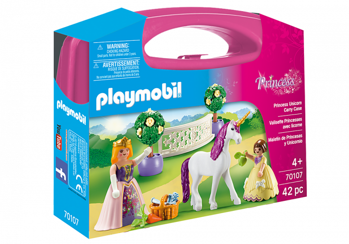 PLAYMOBIL 70107 - Maxi Βαλιτσάκι Πριγκίπισσα με άλογο