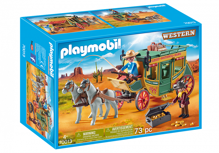 PLAYMOBIL 70013 - Άμαξα Άγριας Δύσης