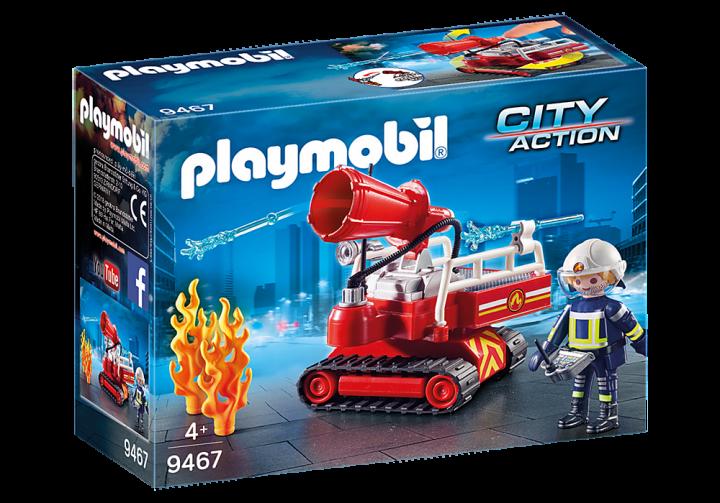 PLAYMOBIL 9467 - Πυροσβεστικό κανόνι νερού με χειριστή