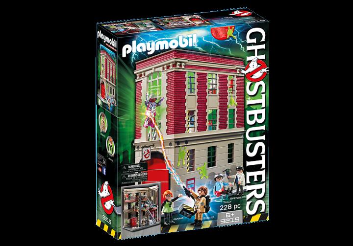 PLAYMOBIL 9219 - Αρχηγείο των Ghostbusters