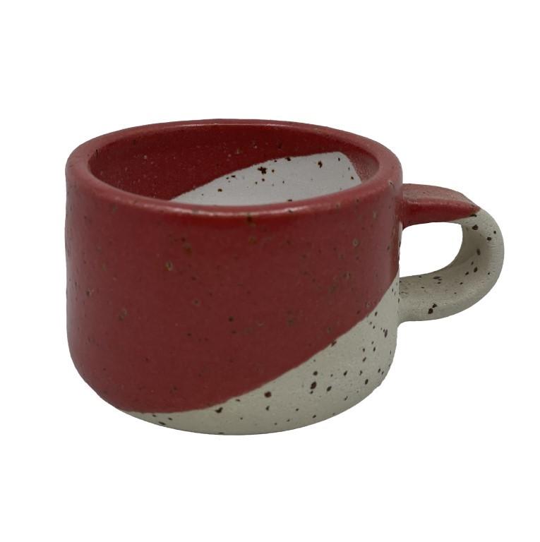 Handmade Ceramic Espresso Cup 50ml - Sunset