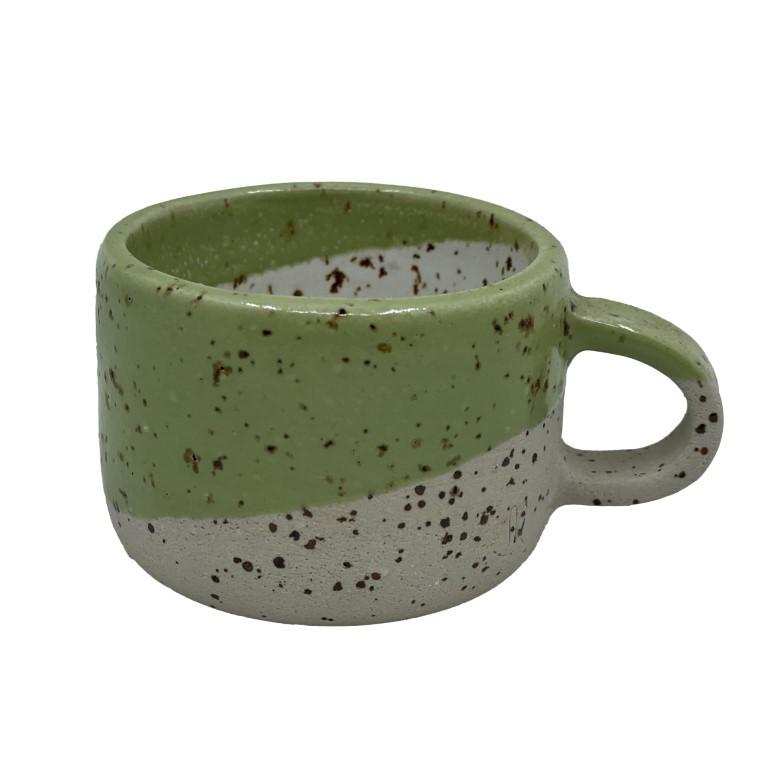 Handmade Ceramic Espresso Cup 50ml - Meadow