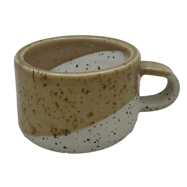 Handmade Ceramic Espresso Cup 50ml - Mountain